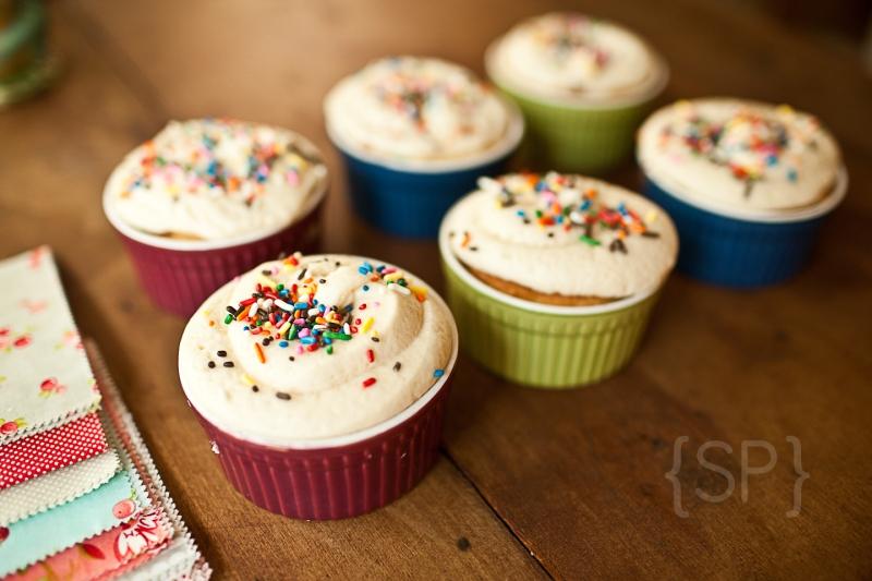 Vanilla Cupcakes 5 © Shiloh Photography